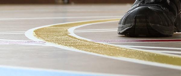 Sporthallen en gymzalen